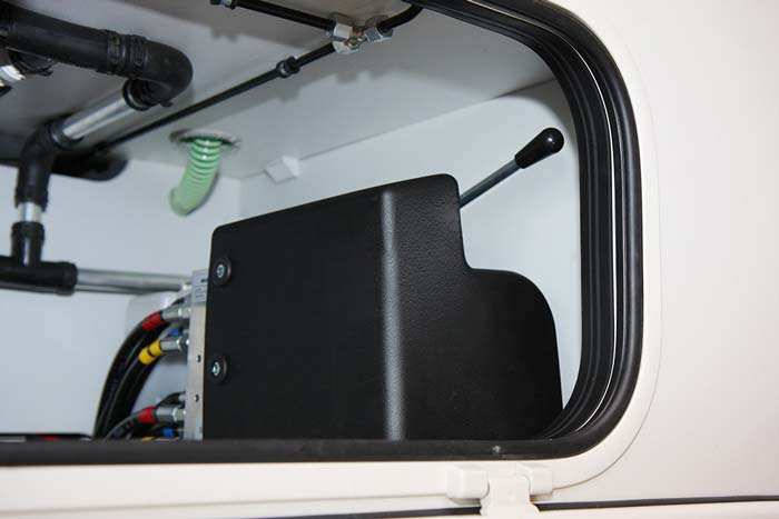Schutz Hydraulikaggregat Reisemobil